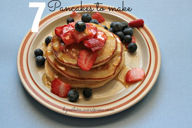 7 Pancakes to Make via Byrd Bites