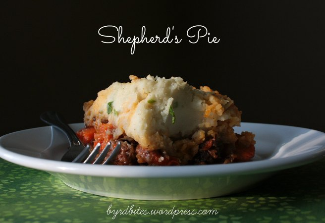 Shepherd's Pie via Byrd Bites