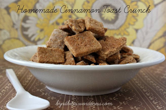 Homemade Cinnamon Toast Crunch via Byrd Bites